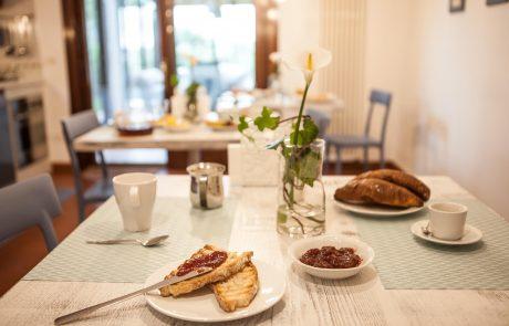 maison il melograno bed and breakfast b&b san marino colazione